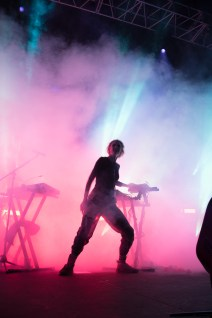Grimes at the Electric Factory Philadelphia (Photo by Alaina Wray / Philthy Mag 2016)