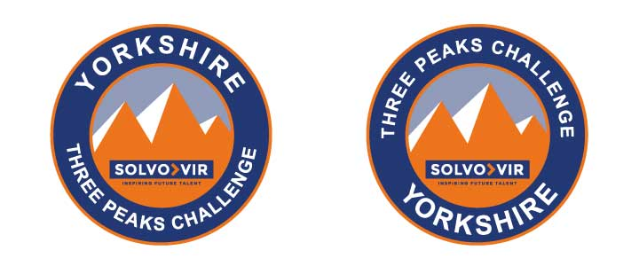 Three Peaks Challenge Logo Design