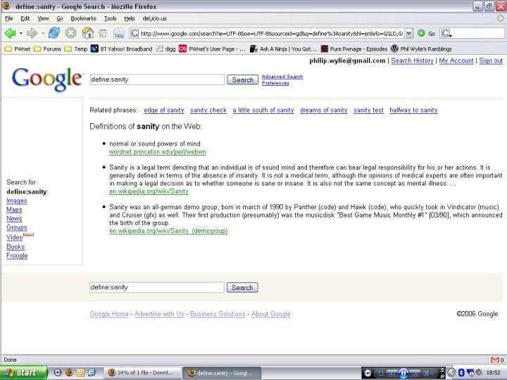 Google Definitions