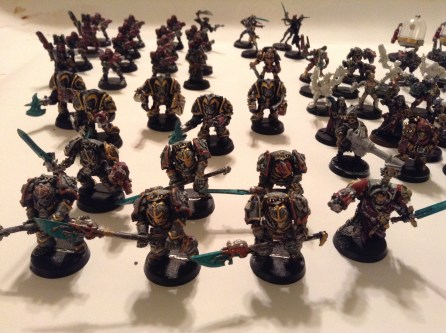 MY hoard of Gray Knights.