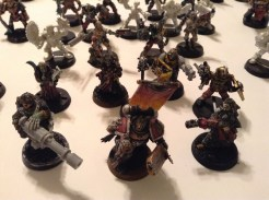 My Witchhunter Inquisition retinue.