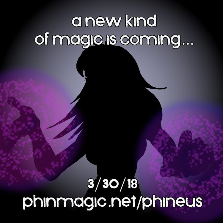 A new kind of magic…