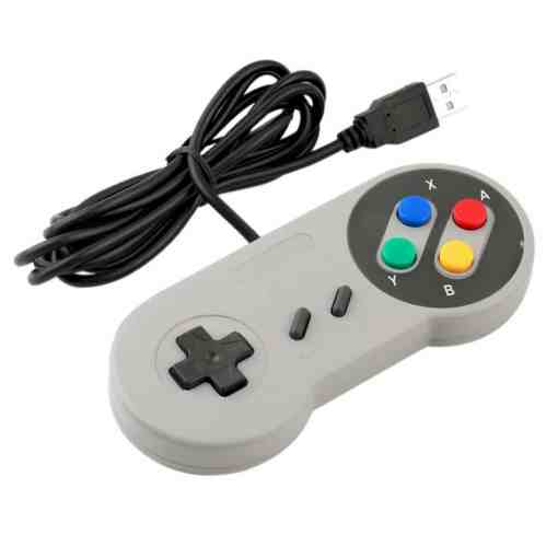 PHI1041867 – Super Nintendo Style USB SNES Retro Game Controller – Pack of 2 02