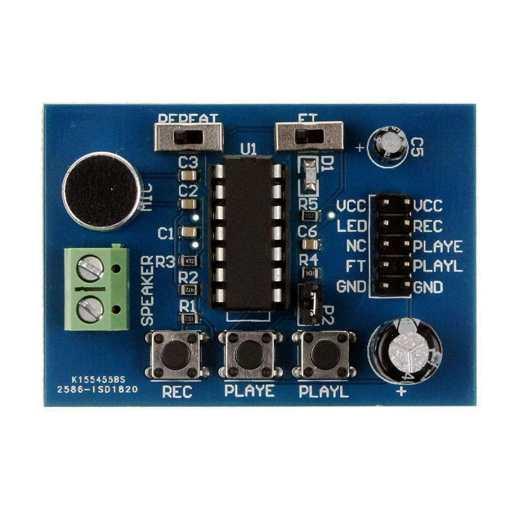ISD1820 Voice Board Module