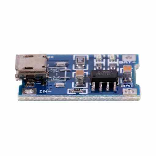 PHI1051327 – TP4056 Mini USB Lithium Battery Charging Board – 5V 1A 03
