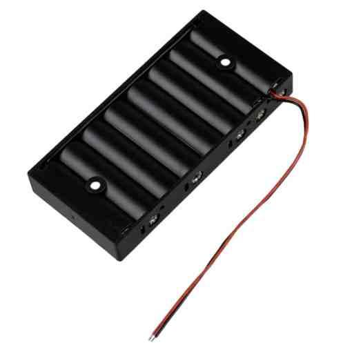 8 x AA Battery Holder Box