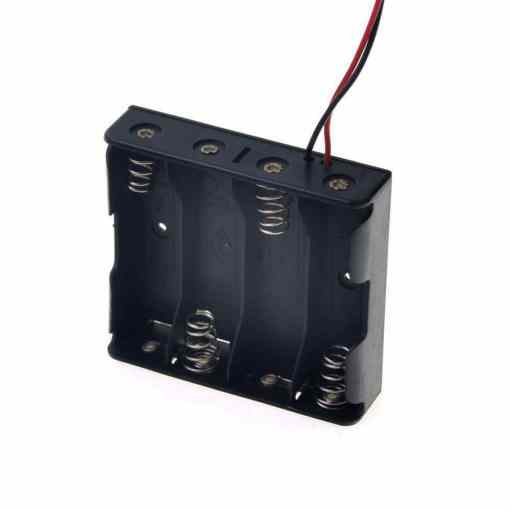 4 x AAA Battery Holder Box