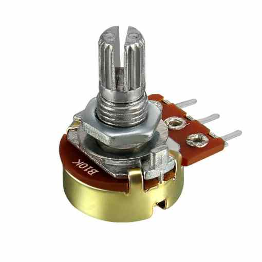 10K Potentiometer Panel Mount – Breadboard Friendly