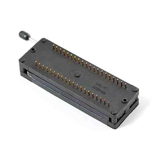 40 Pin Black ZIF Lockable Socket