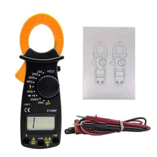 PHI1081825 – Digital Clamp Multi Meter Voltmeter Ohmmeter – DT3266L 03