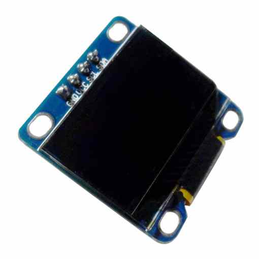 PHI1071983 – 0.96 Inch Yellow OLED Serial Display Module – 128 x 64 02