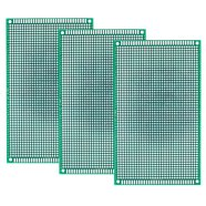 1782 Point Solderable PCB Prototype Breadboard 9cm x 15cm – Pack of 3