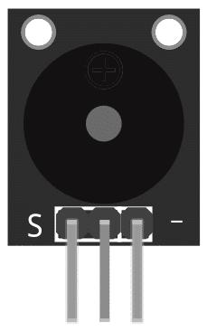 Figure 1: KY-006 Small Passive Buzzer Module