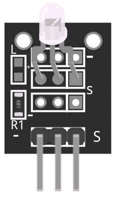 Figure 1: KY-011 2 Colour LED Module