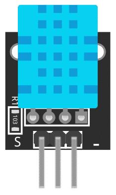 Figure 1: KY-015 Temperature and Humidity Sensor