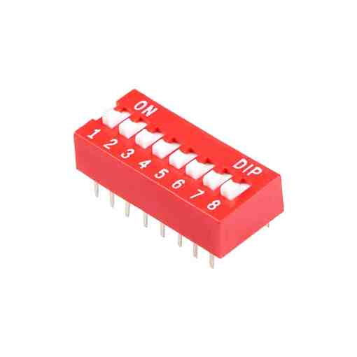 PHI1052133 – 8 Position DIP Switch – Pack of 5 02