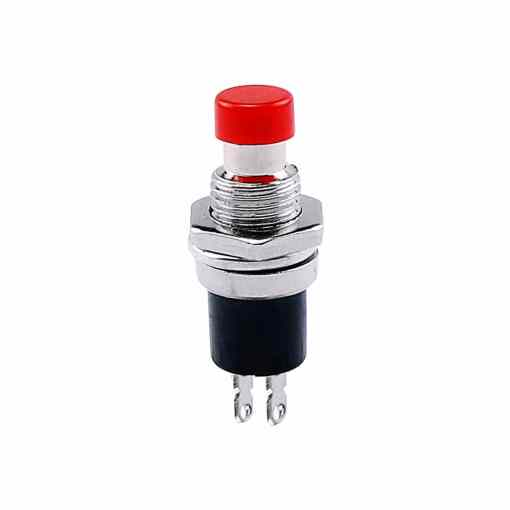 PHI1052141 – Red Push Button Switch PBS-110 – Pack of 5 02