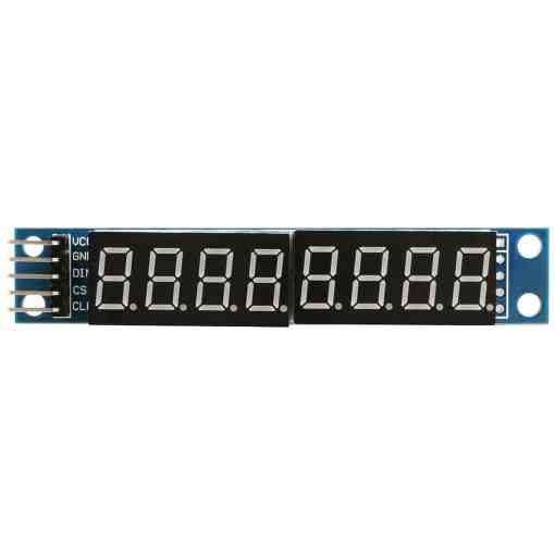 PHI1072231 – MAX7219 8 Digit 7 Segment Digital Display Module 02