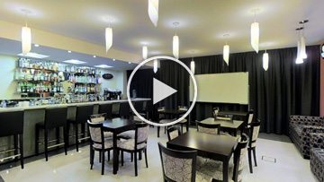 Aula Simulador Cafe Bar - ISEHG - Matterport - PhiSigma Interactive