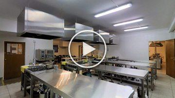 Aula Simulador Restaurante - ISEGH - Matterport - PhiSigma Interactive