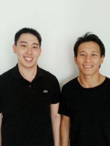 Twin brothers Ki Chong and Ki How Tran