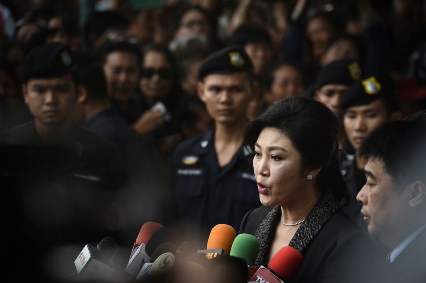 Image result for yingluck shinawatra