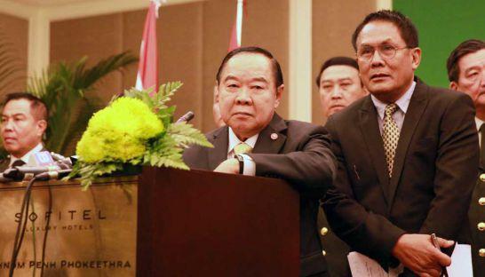 Thailand Defence Minister Prawit Wongsuwon