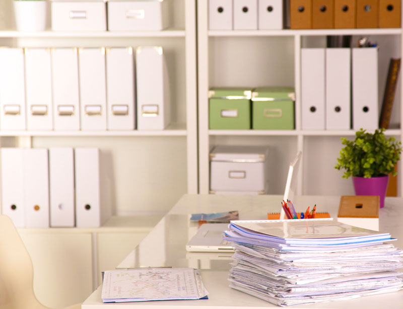 tidy office. tidy your office during get organized month with these tips