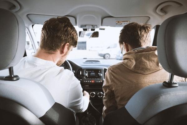 guys driving