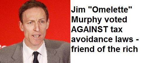 Jim Murphy Friend Of The Rich