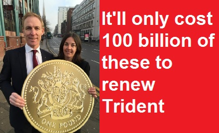 Jim Murphy wants to replace Trident