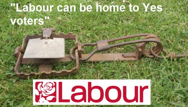 Labour Welcomes Yes Voters