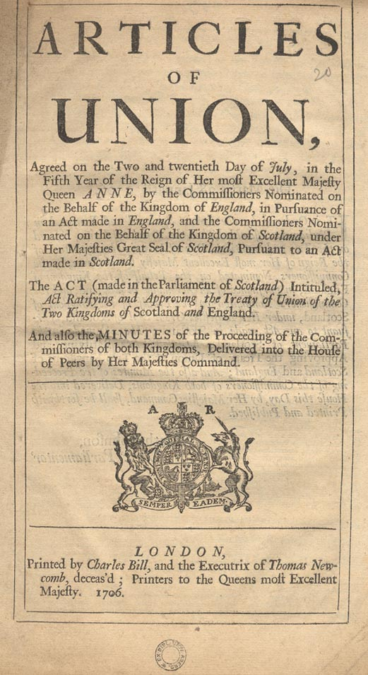 Articles of Union