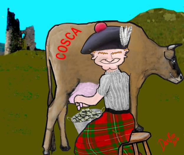 COSCA Cow Milked by Clan Chiefs