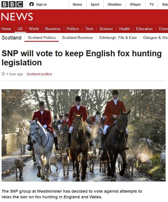 Disengenuous BBC headline