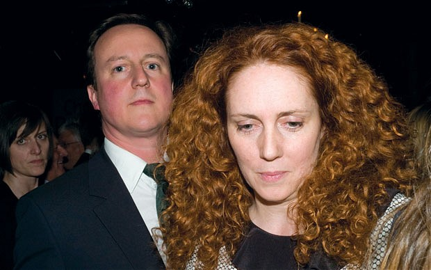 David Cameron and Rebecca Brooks