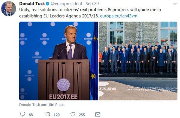 Tusk tweet