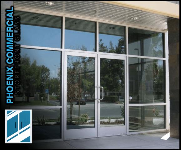 Storefront Glass Door Repair Phoenix Scottsdale Commercial