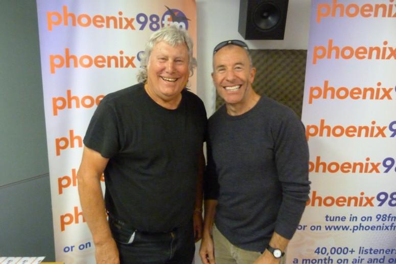 Geoff Thomas and Simon Dove