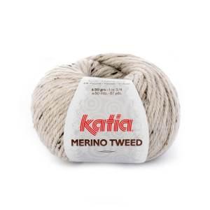 merino tweed_300 naturweiß