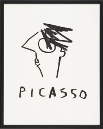 Habitat Stephen Davids Picasso Print