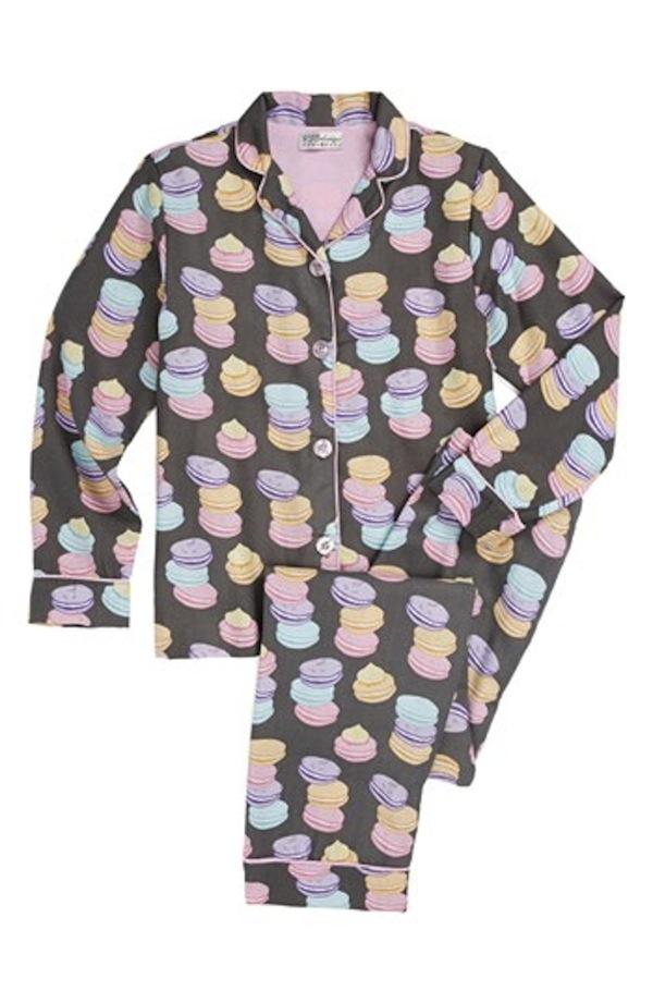 PJ Salvage Macaroon Print Pyjamas