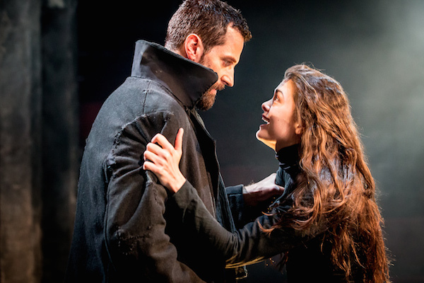 06631 The Old Vic_The Crucible_Richard Armitage (John Proctor) and Samantha Colley (Abigail Williams) photo credit Johan Persson