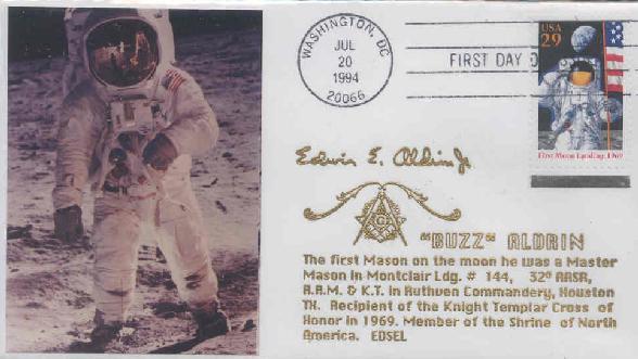 Buzz Aldrin Mason