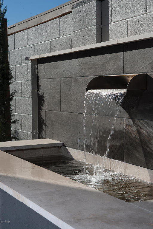 38 North Water feature 1