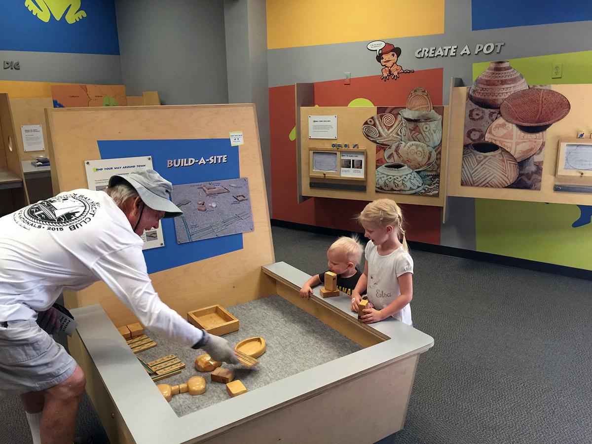 Exhibits at Pueblo Grande Museum