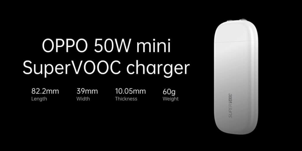 OPPO's 50W mini SuperVOOC