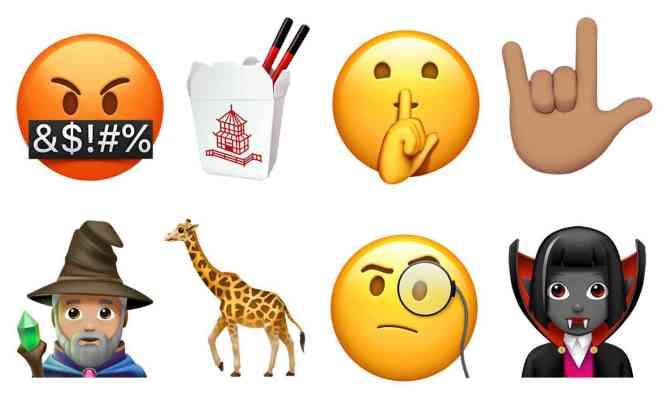 Apple iOS 11.1 new emoji official