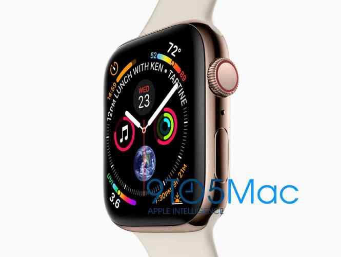 Apple Watch Series 4 leak