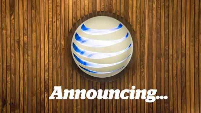AT&T announcing logo